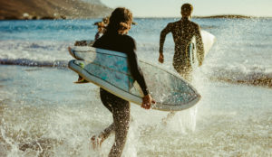 Biarritz spot surf