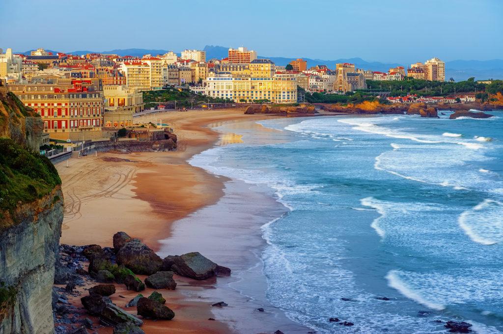 vue biarritz