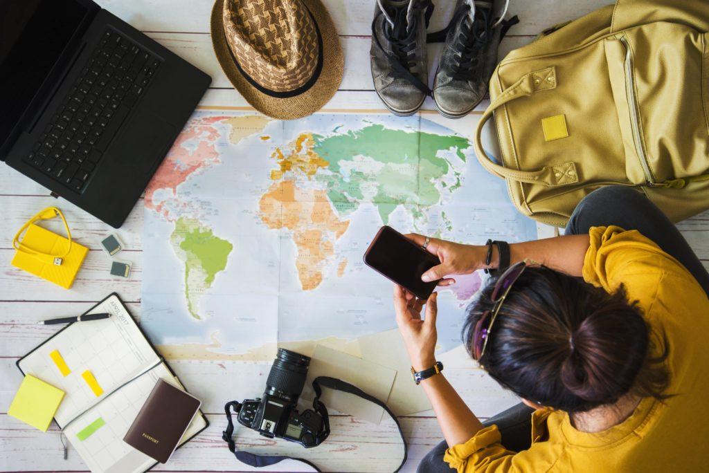 organiser vacances entre potes