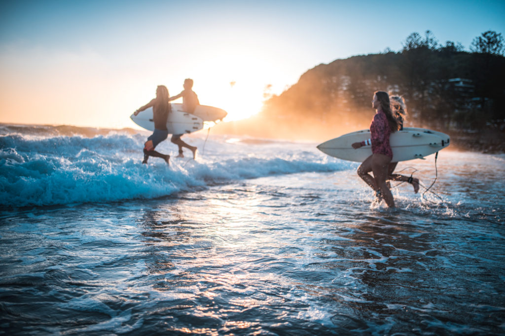 vacances surf